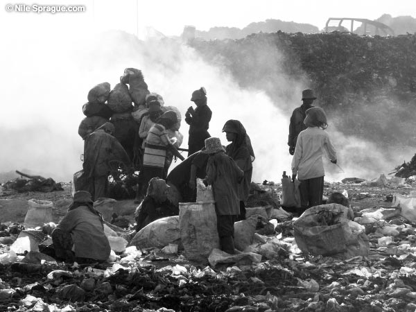 Waste Pickers, photograph by Nile Sprague